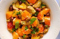 Insalata d'arance e carciofini, la ricetta della nostra cuoca