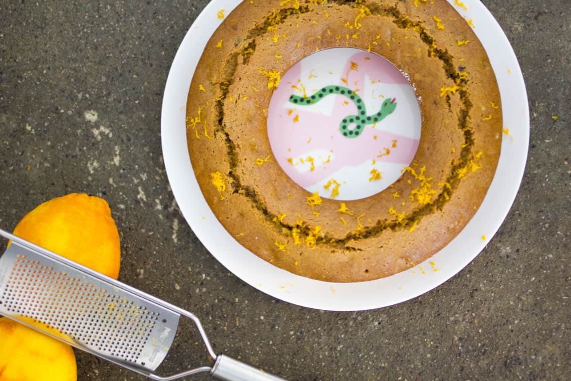 Ciambella integrale all'arancia - gnambox.com