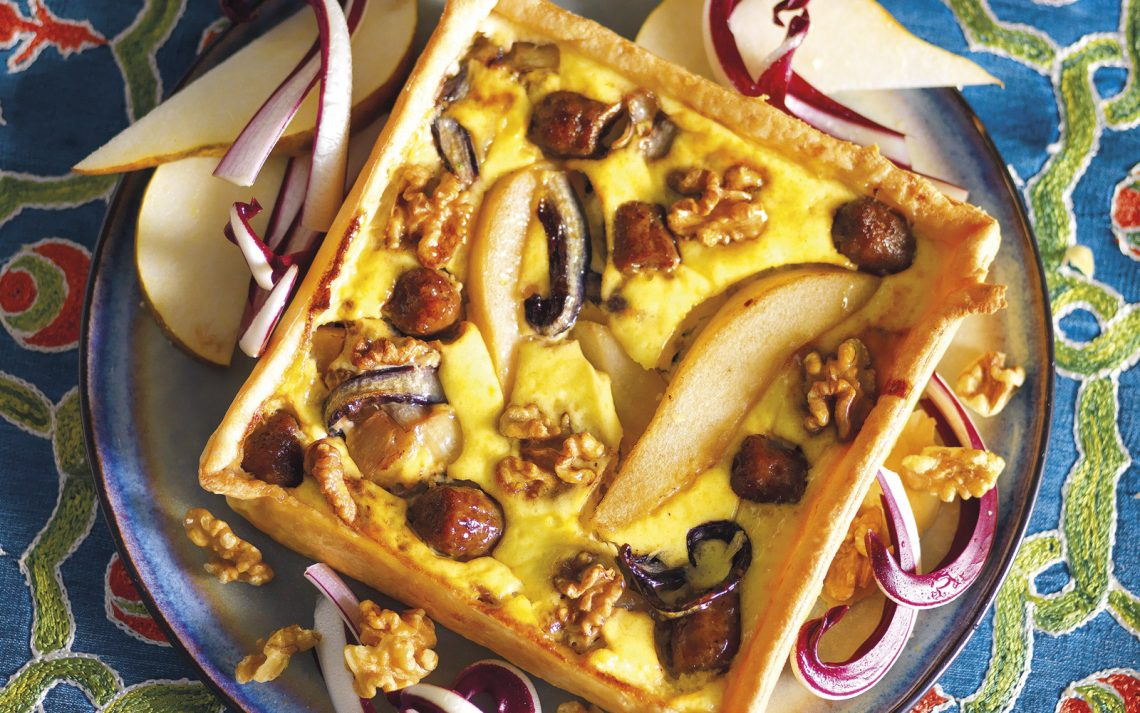 Ricetta Torta salata al radicchio