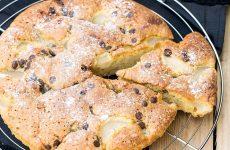 la ricetta del dolce con grano cotto soffice e profumato