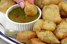 la ricetta delle frittelle vegetariane tipiche della cucina indiana