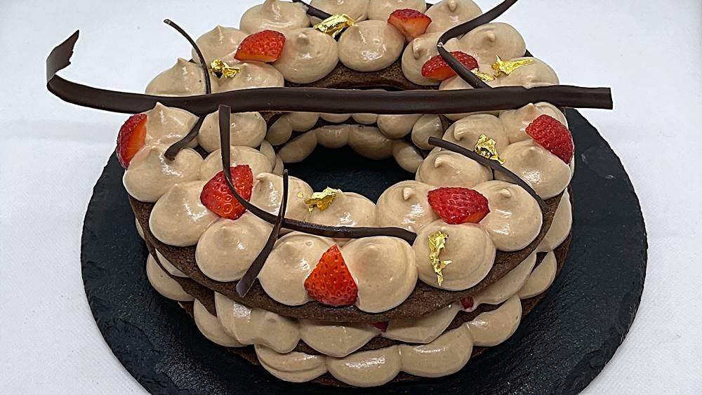 Cream Tart alle nocciole e fragole