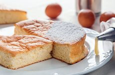 Pan di spagna e crema senza glutine