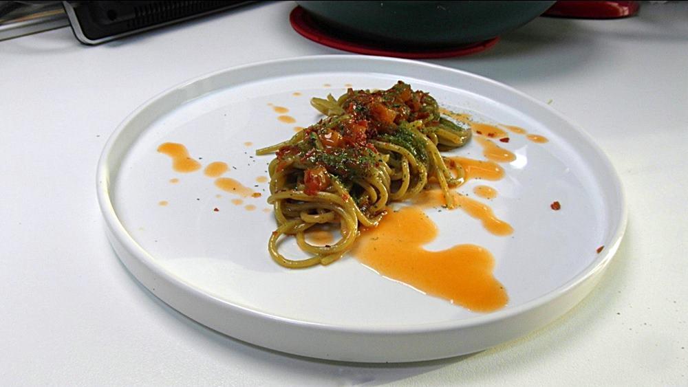 spaghetti melonspeck